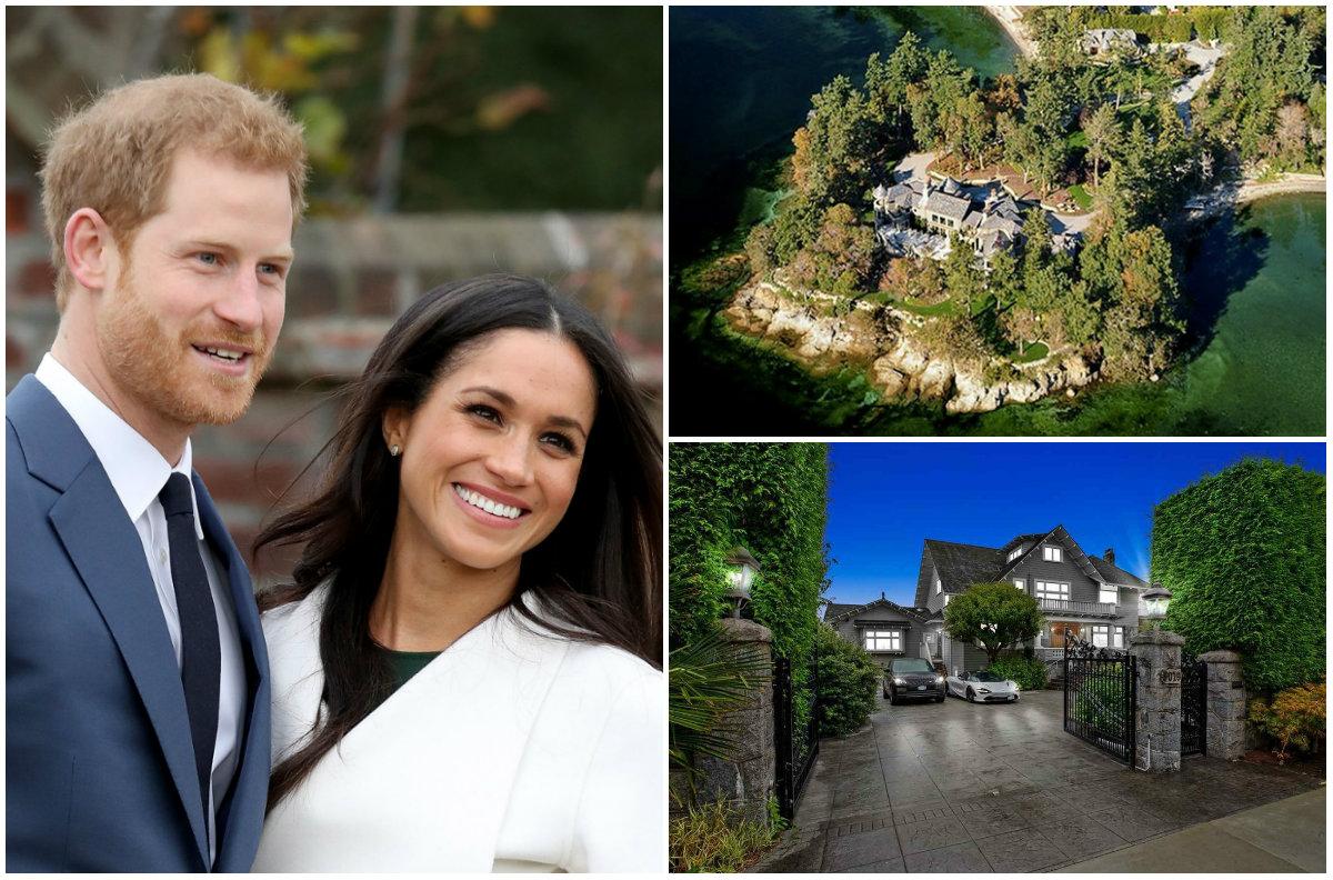 """FOTO/ """"E rrethuar nga kanabisi"""", vila e zgjedhur nga Princ Harry dhe Meghan"""