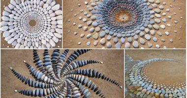 FOTO/ Artisti krijon imazhe mahnitëse me gurët e bregdetit
