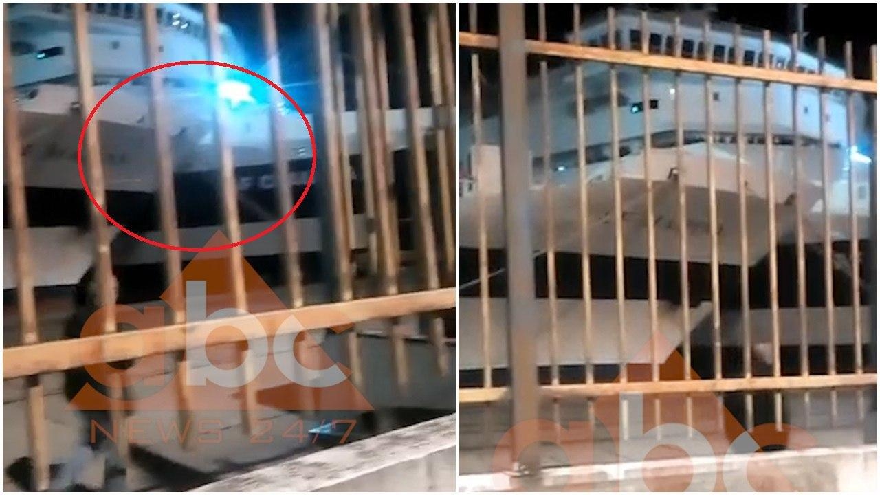Dalin pamjet: Momenti kur përplasen tragetet në Durrës