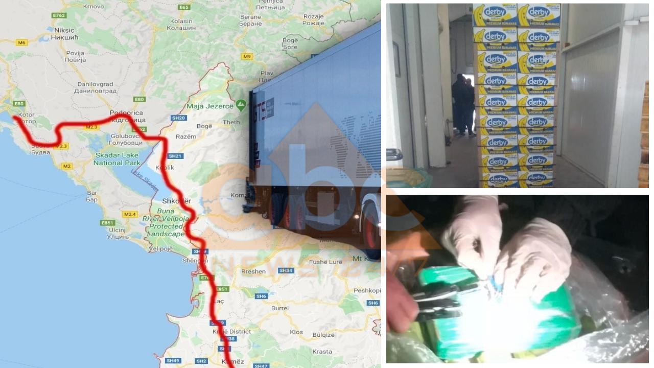 Dalin fotot, ku ishte fshehur sasia rekord e kokainës në kamionin që kaloi në Shqipëri
