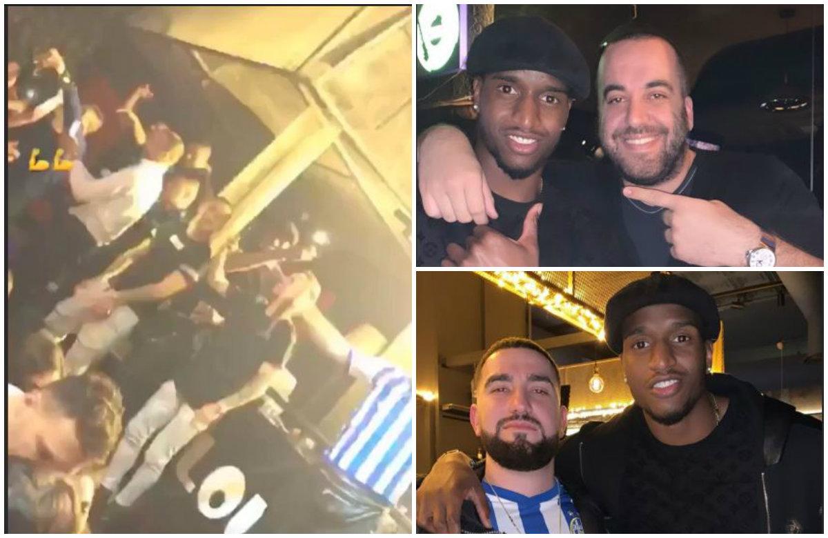 VIDEO/ Festë deri në të gdhirë, Greg Rama e Goxha harbohen me lojtarët e Tiranës