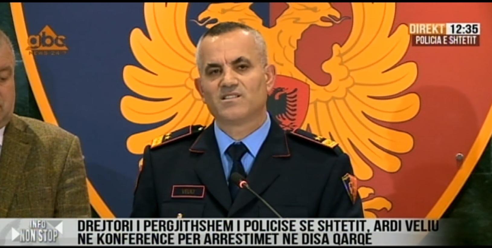 EMRAT / Dhjetra të arrestuar, mes tyre Henri Çili dhe Seit Fishta: Ardi Veliu jep detajet e mega operacionit