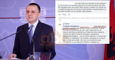 """""""Merr kot si pushka e…"""": Si i përgjigjet Artan Lame qytetarit"""