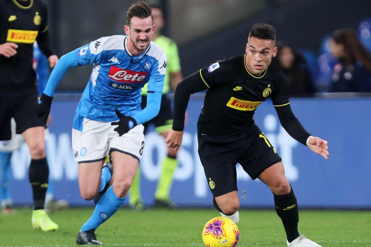 Gjysmëfinalja e parë e Kupës së Italisë, ja formacionet e Inter-Napoli