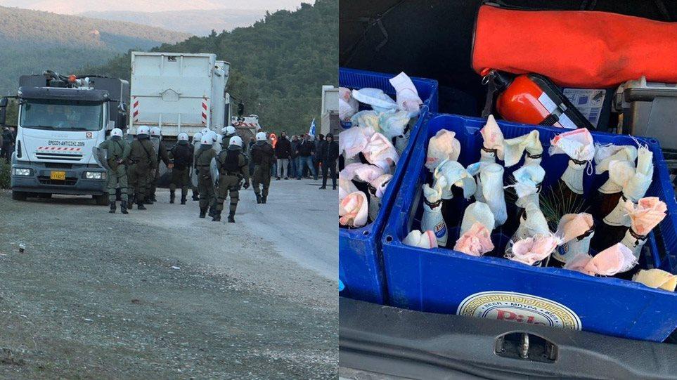 """""""Luftë"""" mes banorëve dhe policisë kundër emigrantëve në ishujt grekë"""
