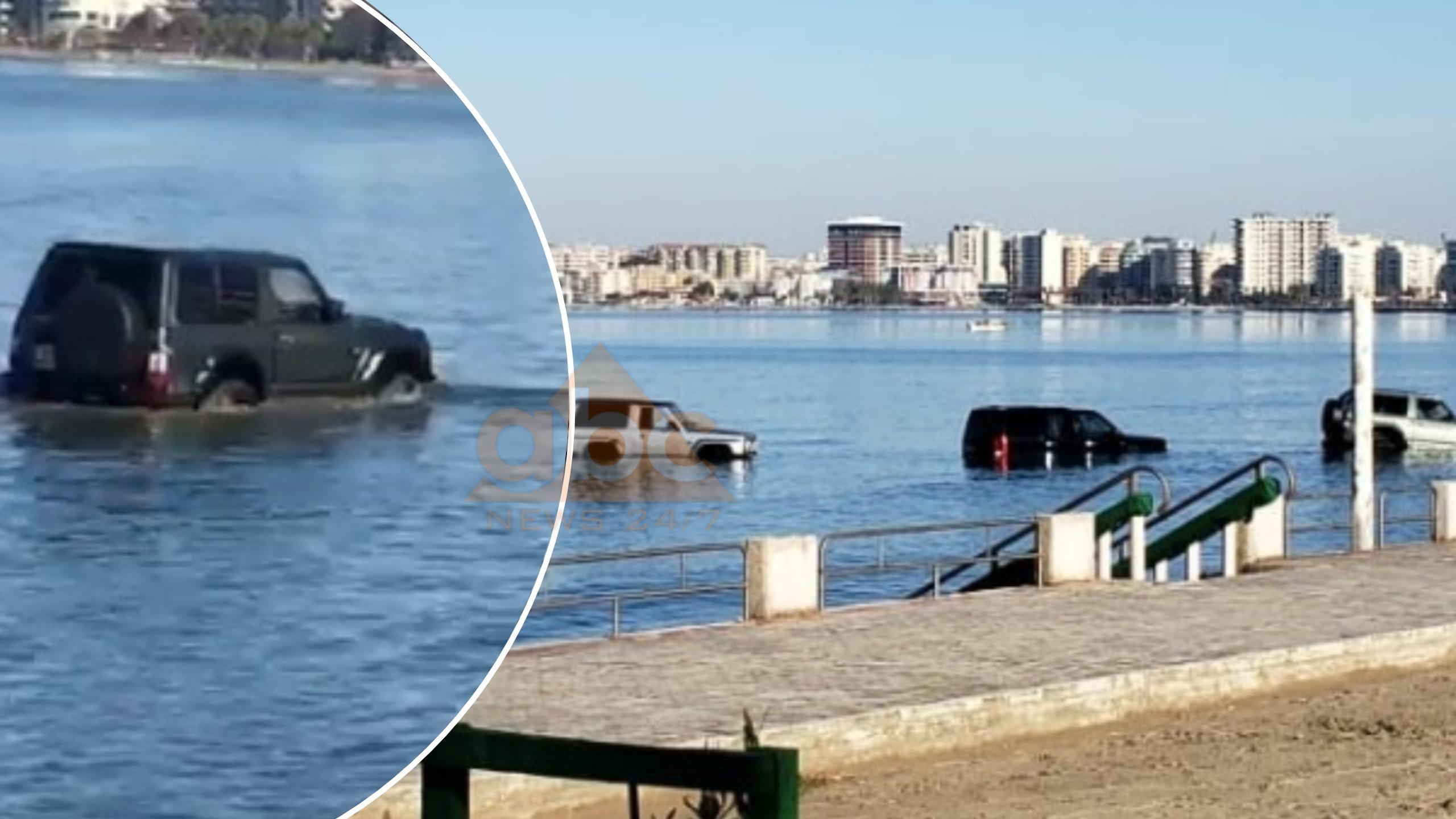 Zbardhet misteri: Pse ndodheshin tre fuoristradat në thellësi të detit në Vlorë