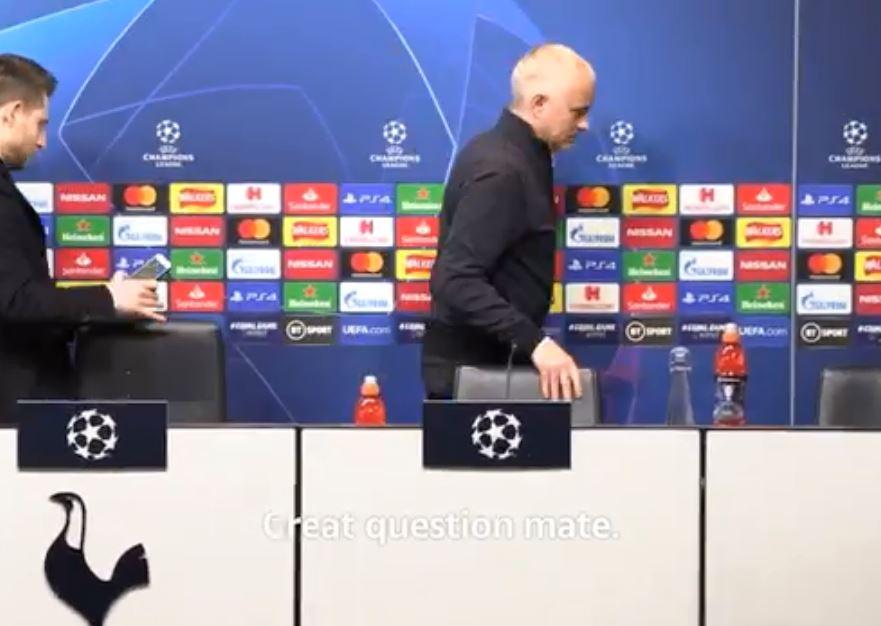 """VIDEO/ """"Pyetje pa lidhje"""", Mourinho tërbohet dhe braktis konferencën"""