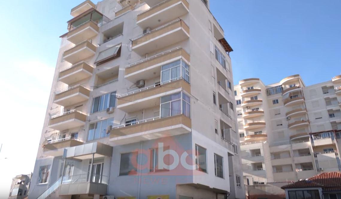 Pallati në Durrës pa akt-konstatimi dhe i mënjanuar 55 cm, banorët përreth ndihen të rrezikuar