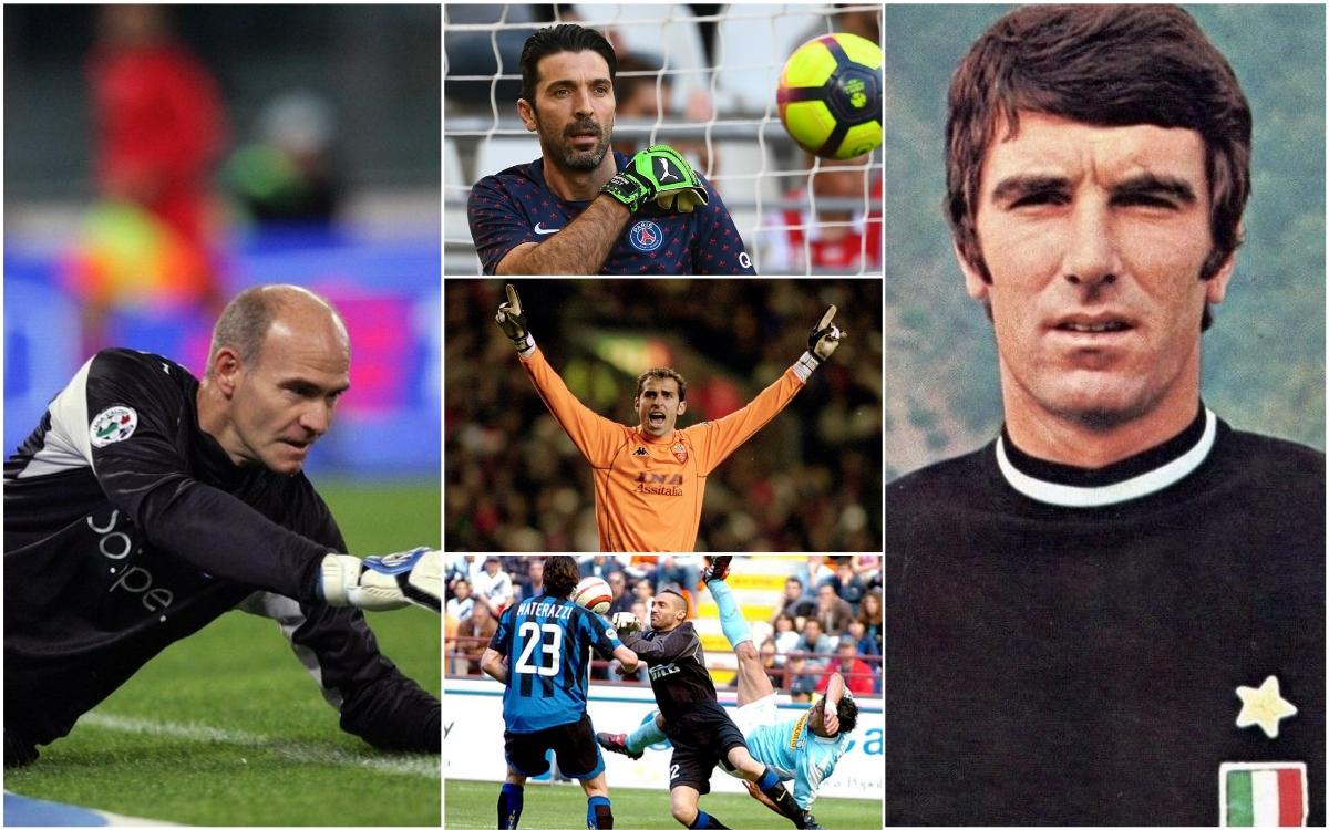 Njihuni me pesë lojtarët më jetëgjatë në Serie A, Buffon në podium
