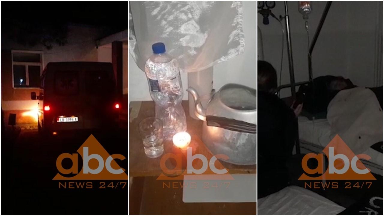 VIDEO / Spitali i Përrenjasit pa energji elektrike, pacientët qëndrojnë në errësirë totale