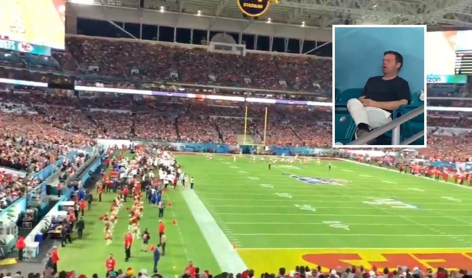 VIDEO/ 7 mijë $ për një biletë, tifozi ia fut gjumit në mes të ndeshjes
