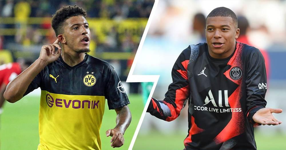Mbappe apo Sancho? Statistikat favorizojnë yllin anglez të Borussia Dortmund