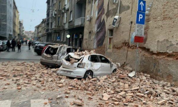 VIDEO/ Zagrebi goditet nga dy tërmete mëngjesin e sotëm