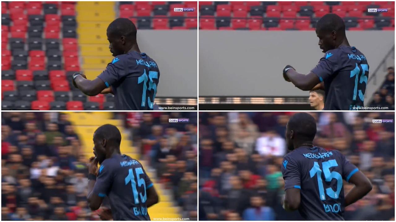 VIDEO   Çudi e madhe në kampionatin turk, lojtari i Trabzonspor protagonist