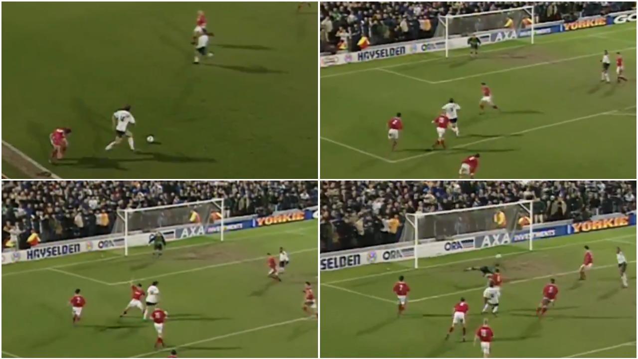 VIDEO | 21 vite më parë, kur fenomeni David Ginola shënonte një gol gjenial