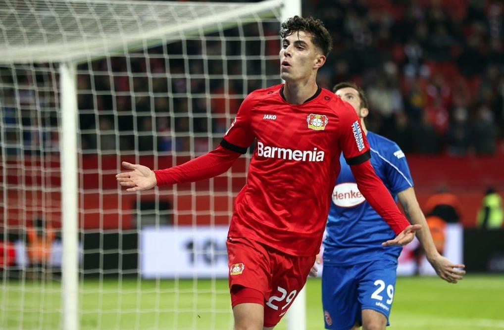 """Havertz dhuron """"show"""" në Gjermani, bëri ndeshjen e jetës kundër Frankfurt"""