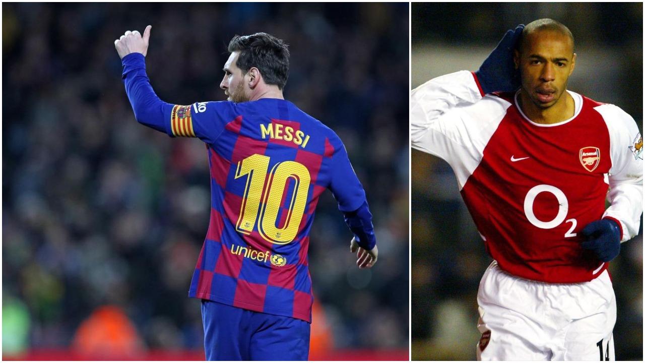 Rekordi absurd i Thierry Henry në Europë, as Lionel Messi nuk e ka thyer dot