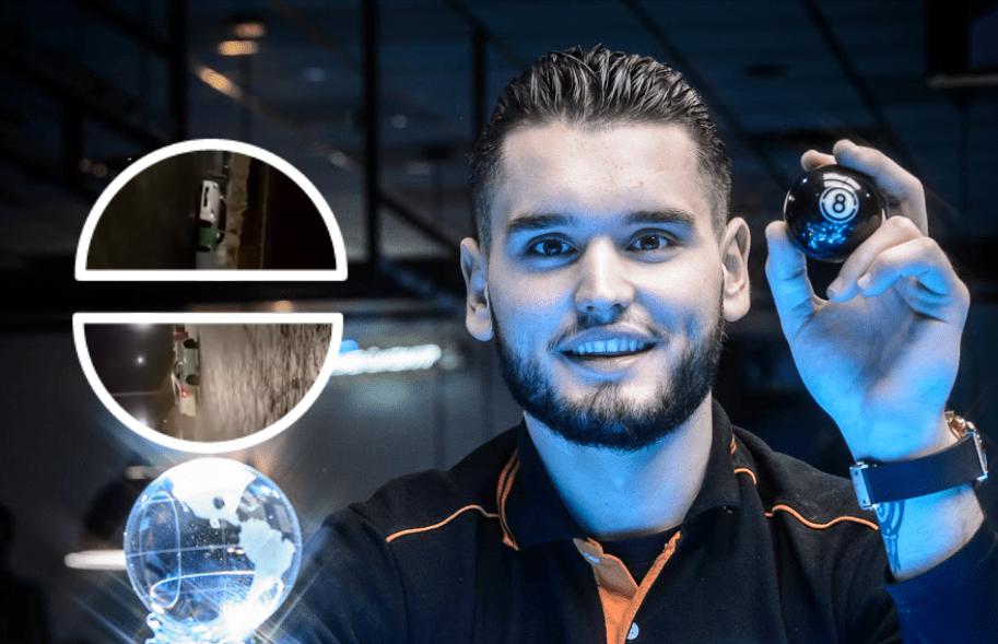 """VIDEO/ Kampion jo vetëm në bilardo, Eklent Kaçi """"i bën zbor"""" edhe makinës"""