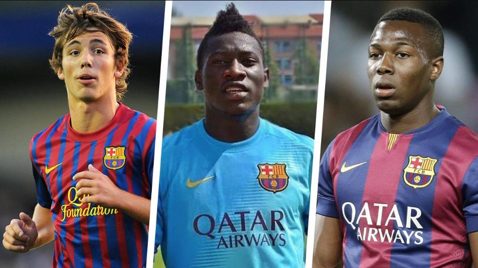 """""""La Masia"""" makineri talentesh, ja 12 yjet që Barcelona i ka lënë të lirë"""