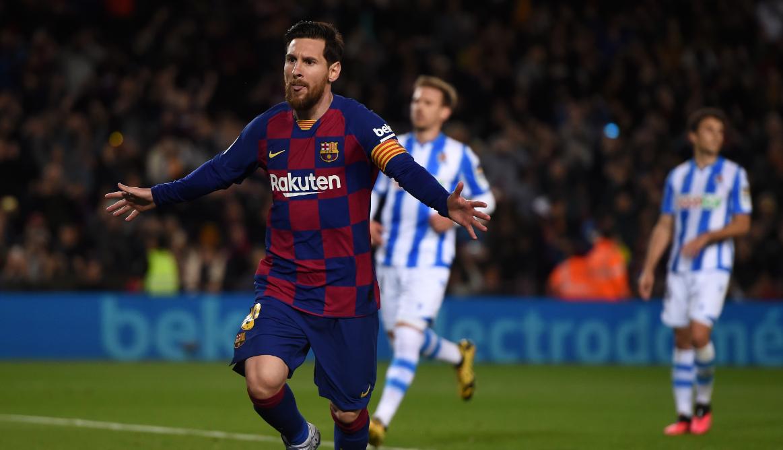 VIDEO | Barcelona merr kreun në La Liga, penalltia e Messit thyen Sociedadin