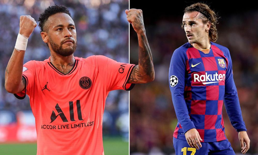 """Lëvizje te Barcelona: Griezmann në udhëkryq, Neymar i thotë """"po"""" rikthimit"""