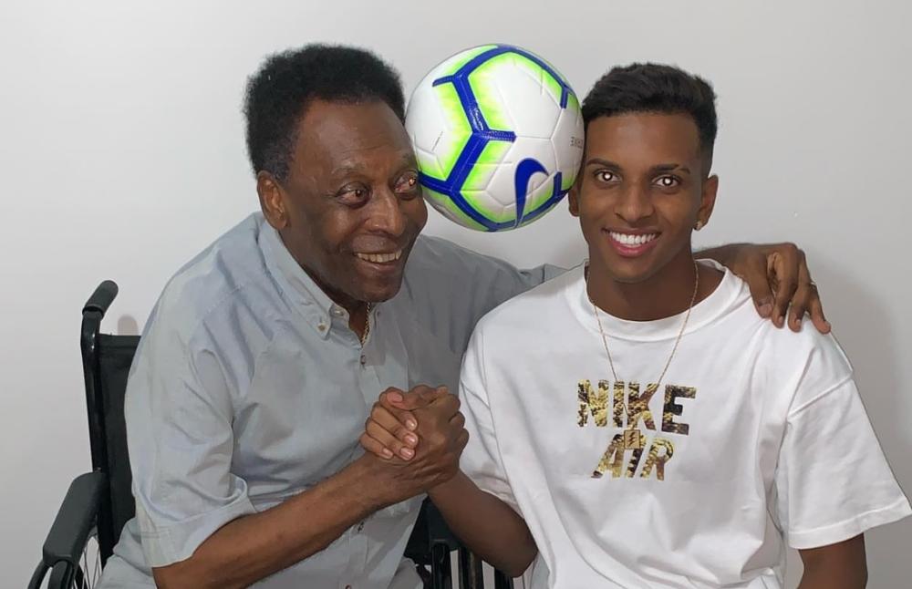 Rodrygo: Frymëzohem nga dy lojtarë, ika te Pele para se të shkoja te Reali