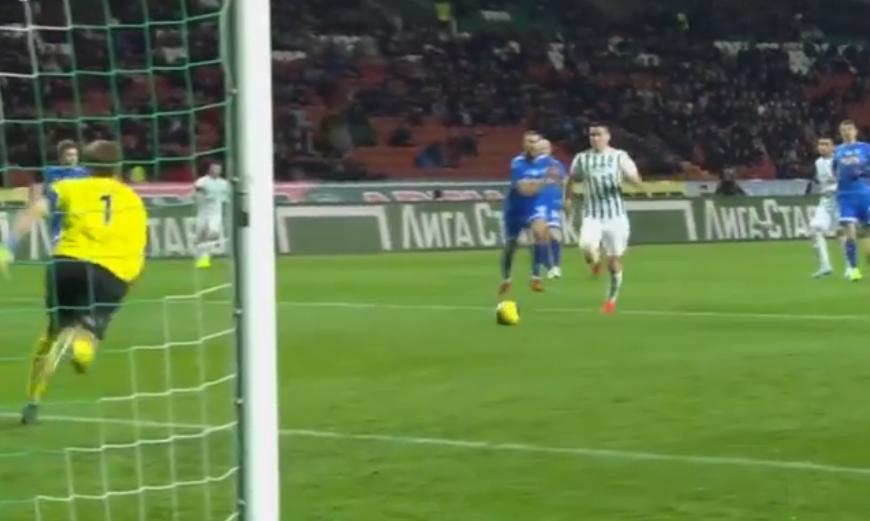 VIDEO | Odise Roshi në super formë, ndëshkon shpejt Dynamo Moscow