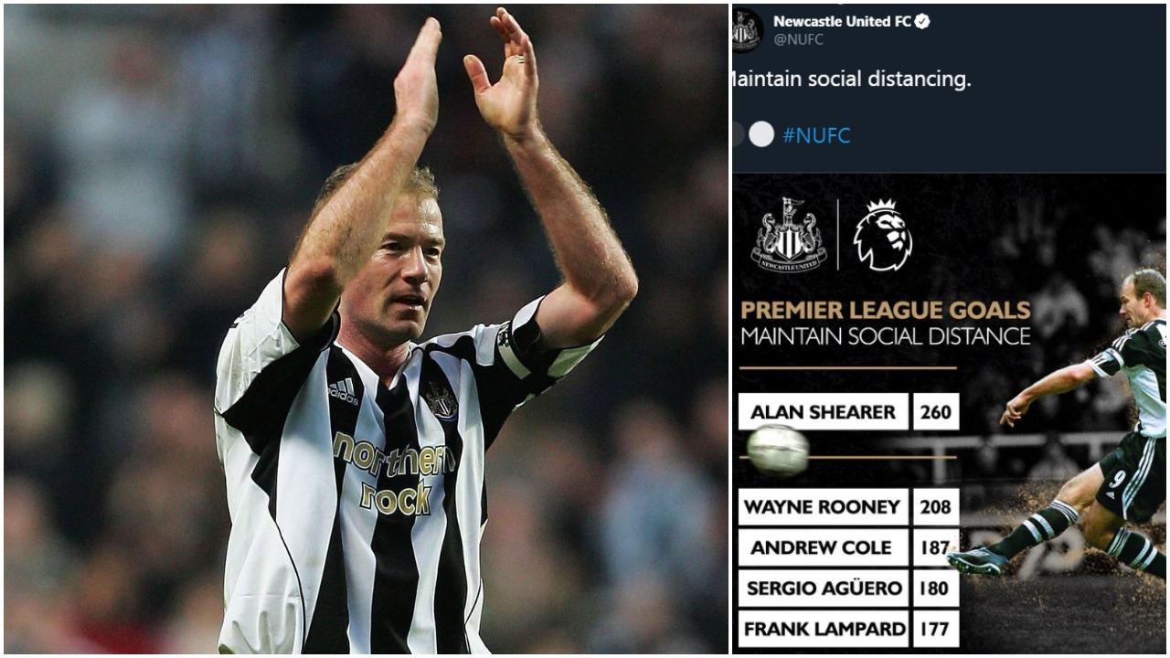 """""""Respektoni distancën"""", ironi therëse dhe mesazh domethënës nga Newcastle"""