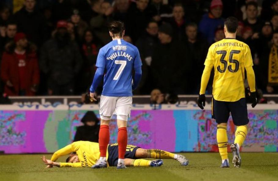 Dëmtimi i rëndë i mesfushorit të Arsenal, Kupa e Amerikës në rrezik