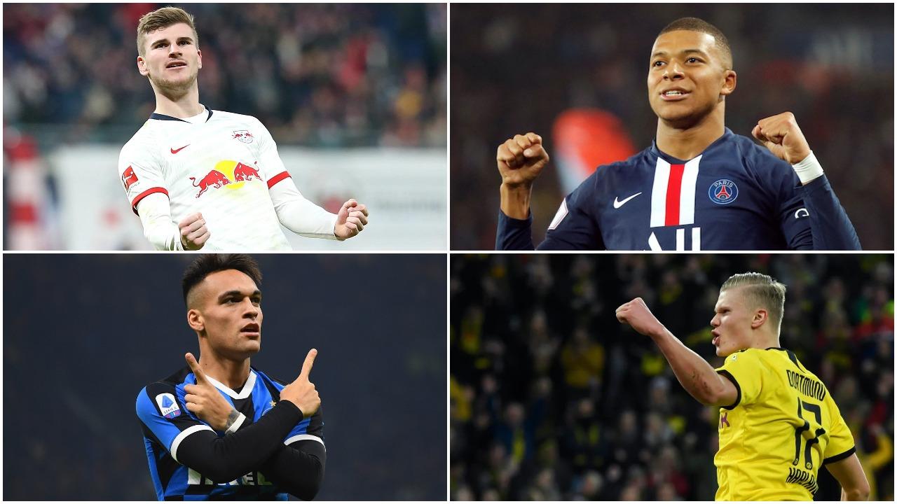 Mbappe, Haaland, Lautaro apo Werner? Tifozët e Realit zgjedhin të preferuarin