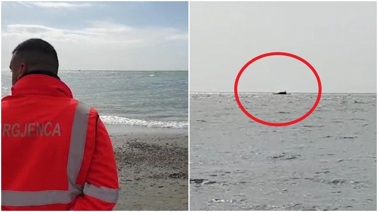 EMRI/Përmbyset varka e peshkimit në Durrës, shpëton një nga peshkatarët në kërkim tjetri