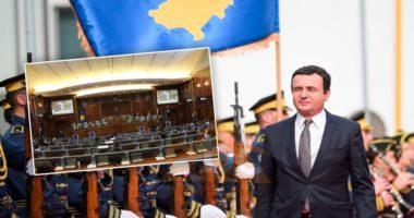 Votohet mocioni i mosbesimit, bie qeveria e Albin Kurtit