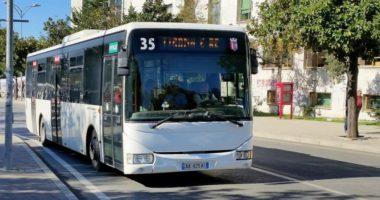 Koronavirusi, ndërpritet transporti publik në Tiranë