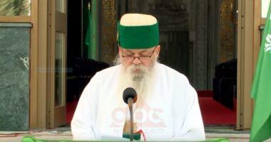 """""""Sulltan Novruzi"""" Baba Mondi uron i vetëm besimtarët: Për herë të parë s'do shtrëngojmë duart, s'ka vend për ligështi"""