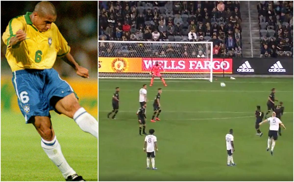 VIDEO/ Vetëm Roberto Carlos shënonte kështu! Gol për Puscas në MLS