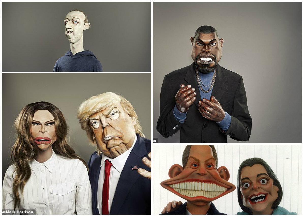 Britania rikthen shfaqjen e karikaturave mbas 24-viteve, sezoni nis me Boris Johnson dhe Donald Trump