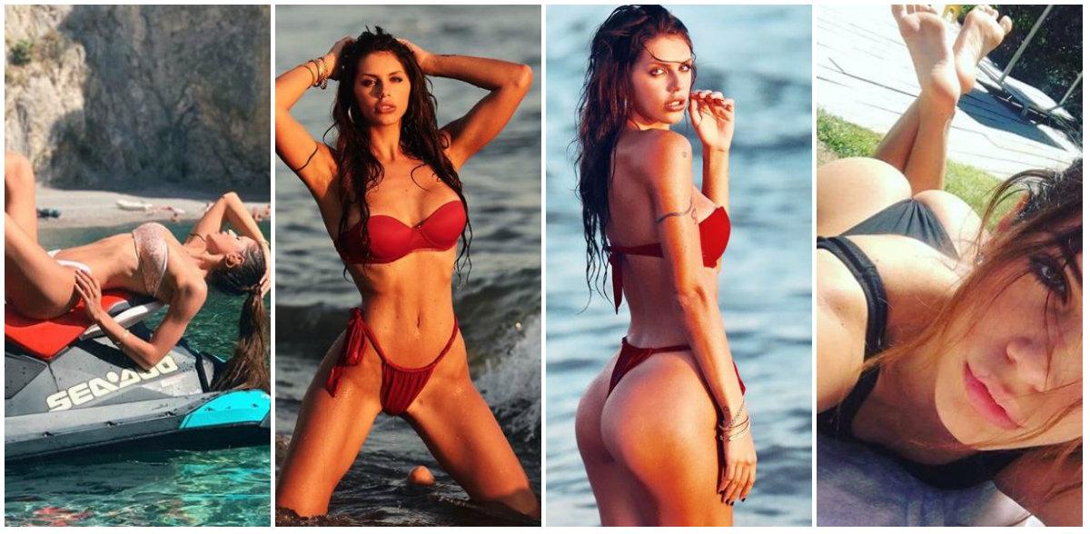 FOTO/ Modelja italiane mahnit sërish me format e saj
