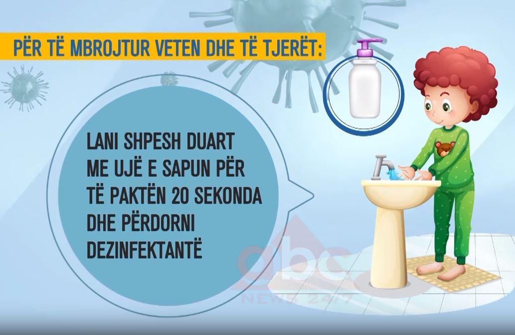 """""""Ti mund të ndihmosh në frenimin e përhapjes së koronavirusit"""", ministria e Shëndetsisë shpërndan videomesazhin"""