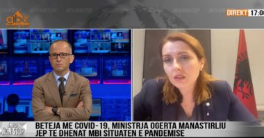 """Ministrja Manastirliu sqaron shifrat e të infektuarve nga Koronavirusi: Gati të kthejmë """"Sanatoriumin"""" në """"Covid 2"""""""