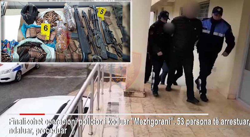 """""""Mezhgorani"""", shkon në 37 numri i të arrestuarve, kapet 32-vjeçari i shpallur në kërkim"""