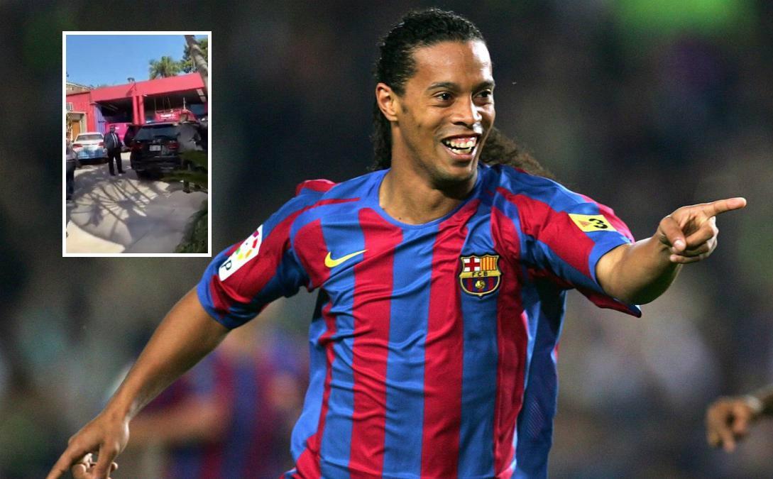 VIDEO/ Arrestohet Ronaldinho, publikohen pamjet nga momenti i ndalimit
