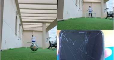 VIDEO   Efektet e karantinës, Armando Sadiku thyen celularin e tij