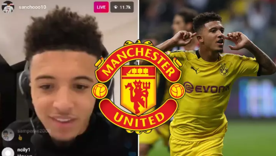 Jadon Sancho tek Manchester United? Veprimi i tij në Instagram tregon shumë
