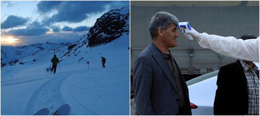 E kishin vendosur në izolim për koronavirusin, 50-vjeçari italian ia mbath për të bërë ski