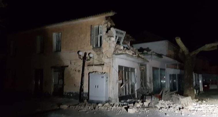 Tërmet i fuqishëm godet Greqinë: Shemben banesa, ka persona të plagosur