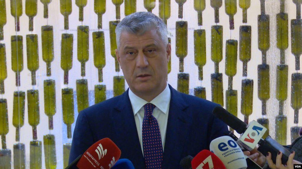 """""""Integriteti i Kosovës i padiskutueshëm"""", Thaçi: BE fillimisht të heqë vizat, pastaj të nisë dialogun"""