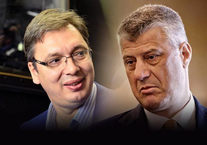 Thaçi-Vuçiç takim në Shtëpinë  e Bardhë, presidenti i Kosovës: Raportoj në Kuvend të mërkurën
