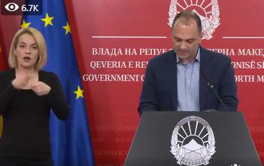 Maqedonia regjistron 6 raste të reja me koronavirus, shkon në 18 numri i personave të prekur