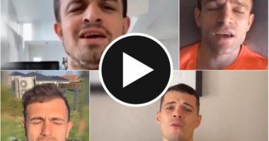 VIDEO/ Yje në futboll, po në muzike si janë? Shqiptarët e Zvicrës befasojnë