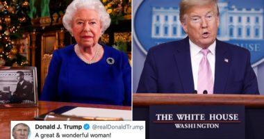Trump e quan Mbretëreshën Elizabeth, një grua të mrekullueshme